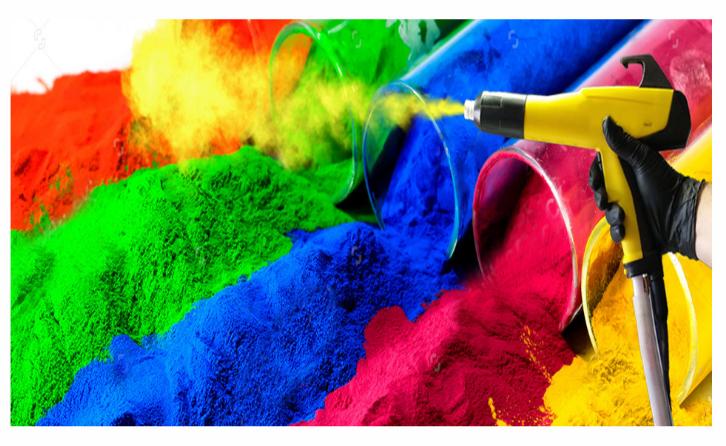 环氧粉末涂料的介绍热固性粉末涂料